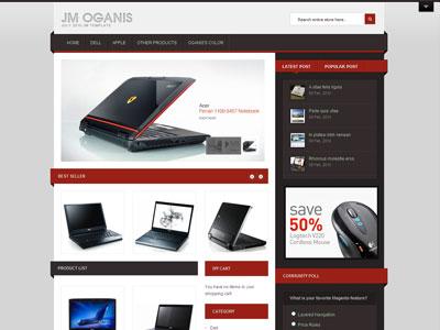 JM Oganis Magento Digital Store Theme