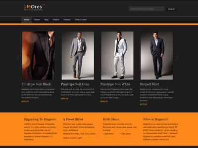 JM Ores Magento Clothing Store Theme