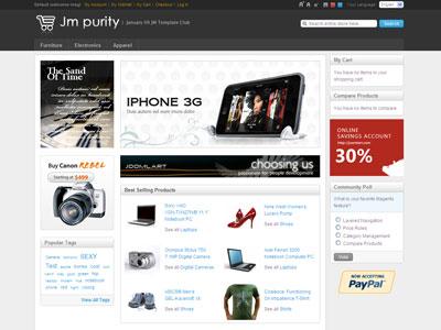 JM Purity Magento Store Theme