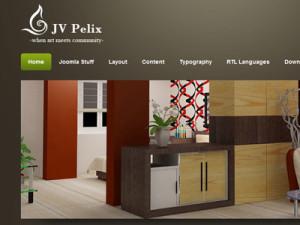 JV Pelix Joomla Template for Restaurant