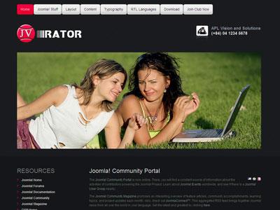 JV Rator Joomla Business Template