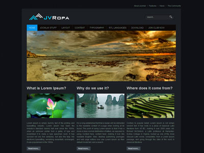 JV Ropa Joomla Template for Business