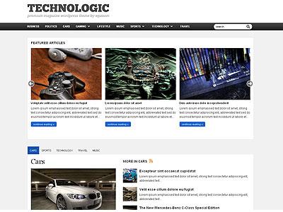 Technologic WordPress Gadgets Theme