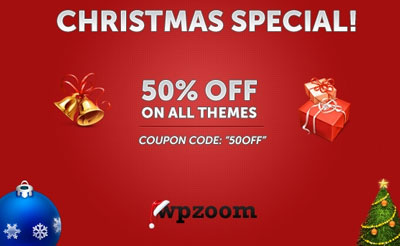 WPzoom Discount Coupon Code for 2011