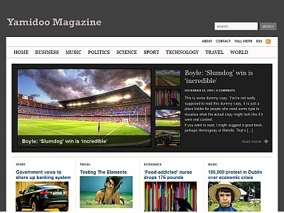 Yamidoo Magazine 1.3 WordPress Theme