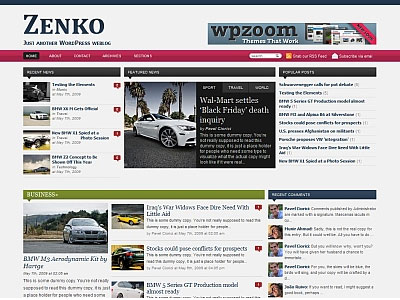 Zenko Magazine 1.3 WordPress Theme