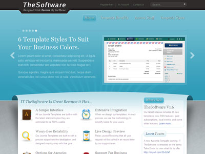 IT TheSoftware Joomla Template