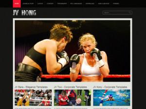 JV Hong Joomla Fitness Template