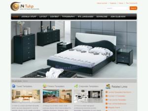 JV Tulip Joomla Furniture Store Template