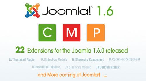 JoomlArt Joomla 1.6.0 Extensions