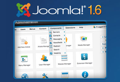 Joomla 1 6 0 Free Open Source CMS updated for Designers