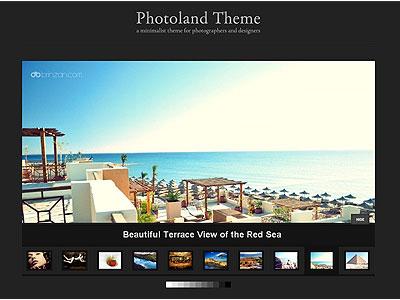 Photoland WordPress Photographer Theme