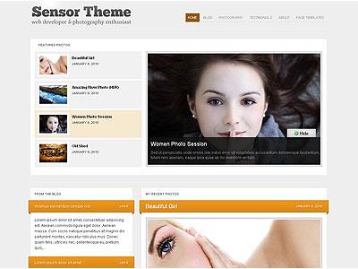 Sensor WordPress Photoblogs Theme