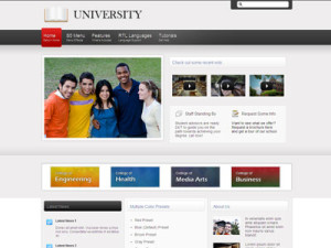 University PhpBB3 Style Template | PhpBB3 Forum Template for College Students or Tutorials