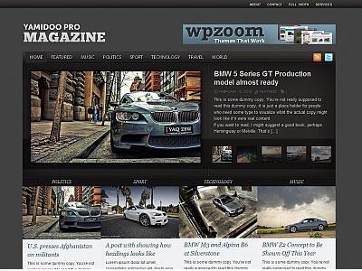 Yamidoo PRO 1.3 WordPress Magazine Theme