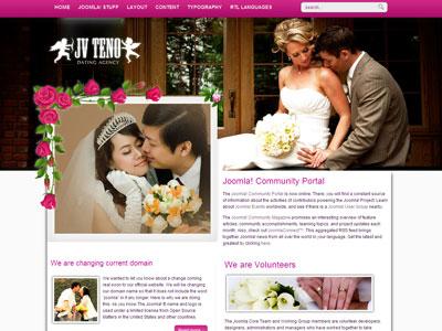ZT Teno Joomla Wedding Template