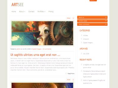 ArtSee WordPress Portfolio Theme