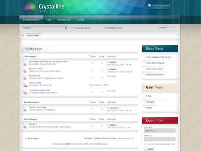 Crystalline phpBB3 SEO Theme