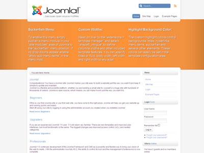 Intrigue Free Joomla 1.6 Template