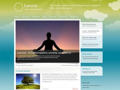 Lacuna Joomla Creative Agency Template