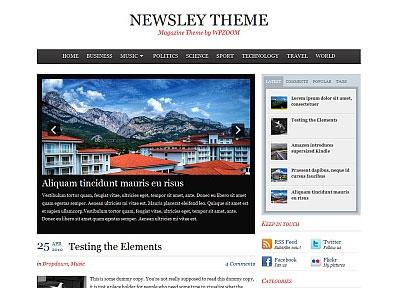 Newsley WordPress News Theme
