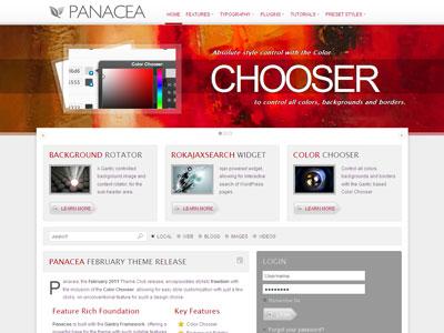 Panacea WordPress iPhone Theme