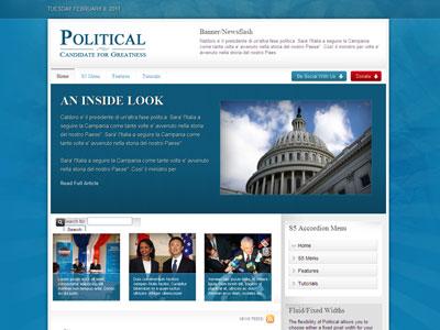 Political WordPress Government Theme