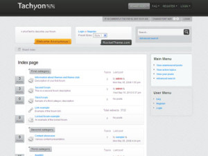 Tachyon phpBB3 Style Template | Gaming Forum Template | RocketTheme Club