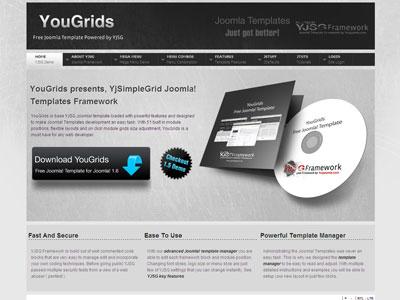 YouGrids Free Joomla 1.6 Template