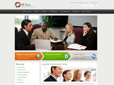 ZT Rate Joomla Corporate Template for Architecture Company ...