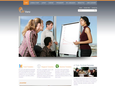 ZT Versi Joomla 1.6 Business Template