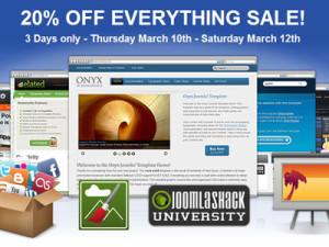 BIG 3 Day Sale JoomlaShack Club