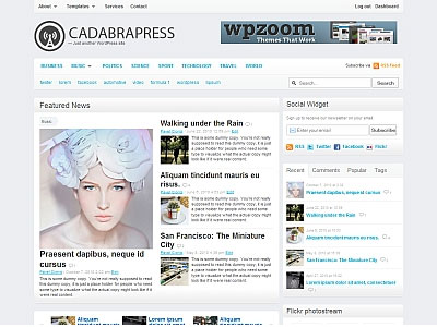 CadabraPress WordPress Magazine Theme