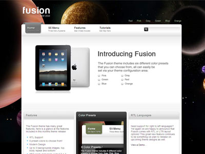 Fusion Wordpress Theme | Wordpress Gaming & Multi Purpose Theme with ...