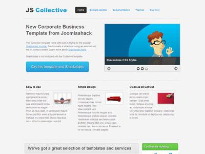 JS Collective Joomla 1.6 Corporate Template