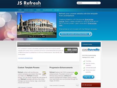 JS Refresh Joomla Corporate Businesses Template