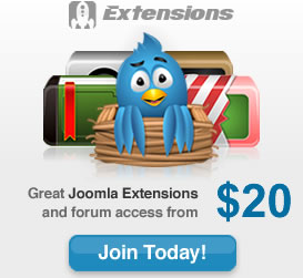 Joomla 1.6 Extensions RocketTheme