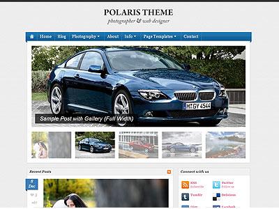 Polaris WordPress Photography Theme