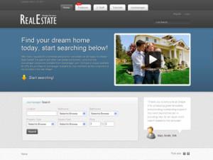Real Estate Joomla Listing Template