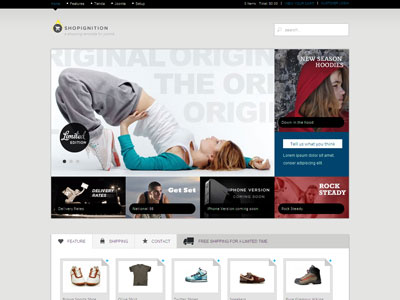Shop Ignition Joomla eCommerce Template
