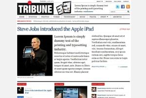 Tribune 1.3 Wordpress Magazine Theme