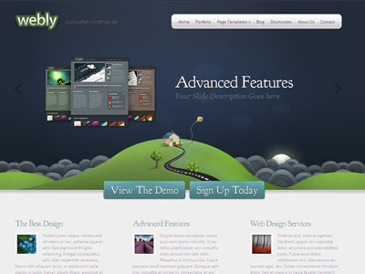 Webly WordPress Web Design Theme