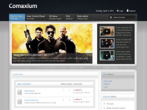 Comaxium PhpBB3 Style Template | PhpBB3 Forum Theme | PhpBB Style Template | Shape5