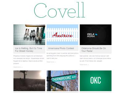 Covell WordPress Photographers Theme