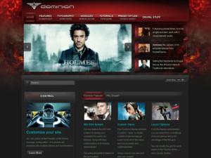Dominion Drupal Movie Showcase Theme