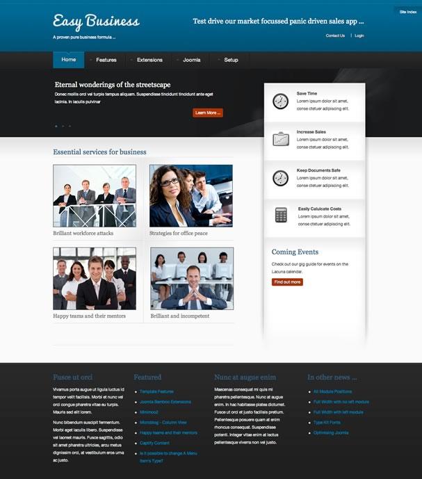 Easy Business Joomla Template