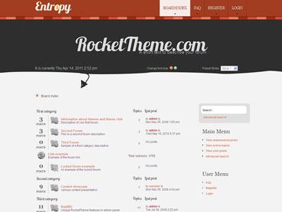 Entropy phpBB3 Style Forum Theme