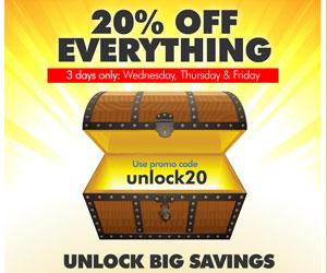 Joomlashack 20 unlock20 coupon Code
