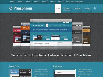 Phosphorus WordPress Showcase Theme