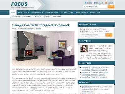 Focus Child Wordpress Blog Theme